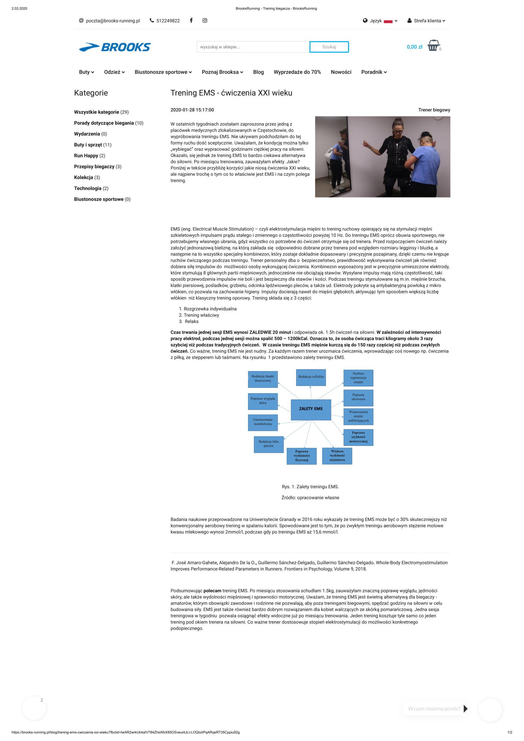 trening EMS AlfaEstetica